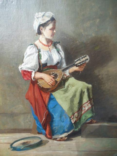 Corot e la ciociara col mandolino