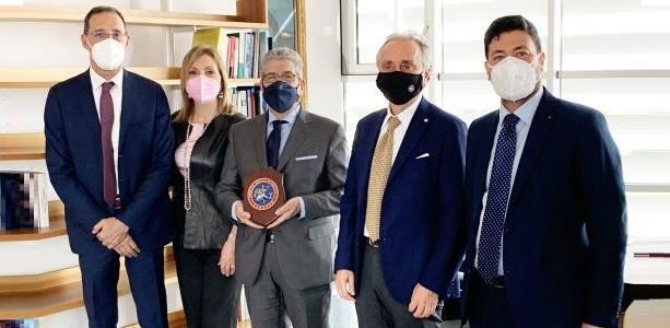 Gianfranco Chiarelli incontra l'Ordine degli Avvocati