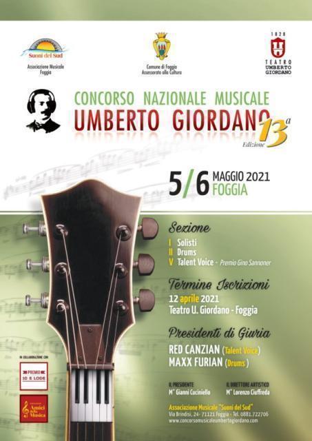 Concorso nazionale musicale 'Umberto Giordano'