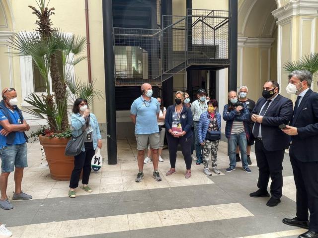 Taranto – I turisti della MSC accolti dal sindaco