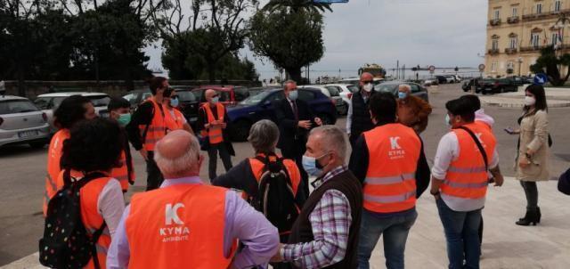 Taranto – Kyma Ambiente al lavoro per accogliere i croceristi