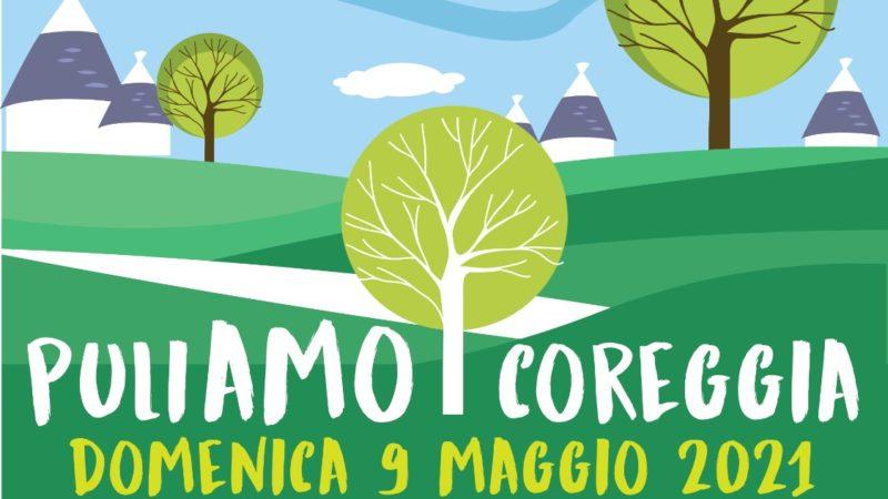 «PuliAmo Coreggia», domenica 9 maggio appuntamento alle 8.30
