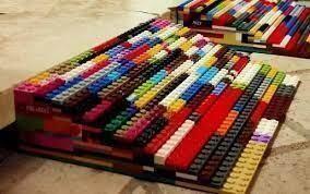 Taranto – raccolta di mattoncini Lego per costruire rampe per disabili