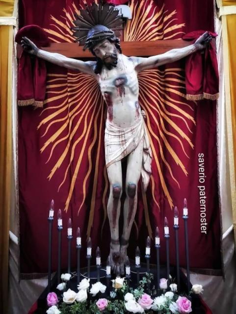 Oggi, domenica 30 maggio conclusione Festa del SS: Crocifisso a Gravina in Puglia