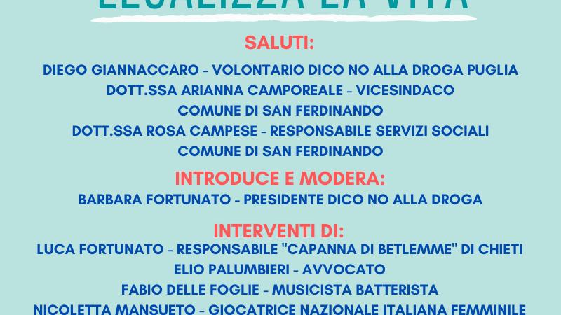 """Webinar Informativo """"Legalizza la Vita"""""""