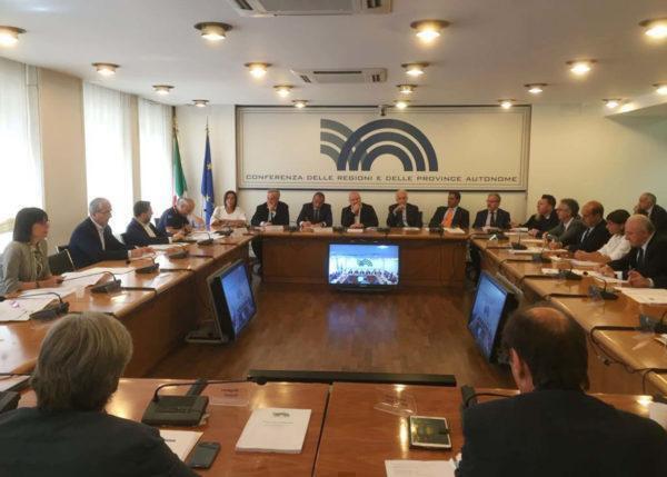 Rinnovo delle Commissioni della Conferenza delle Regioni: la soddisfazione di presidenti ed assessori