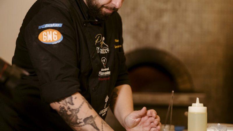 Vincenzo Florio, maestro pizzaiolo pugliese, nel network dell'Alleanza Slow Food