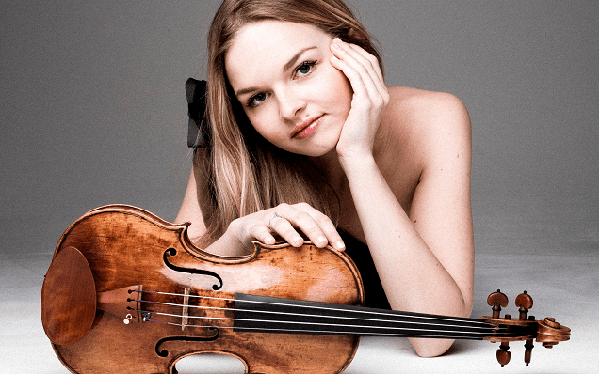 Una violinista delle pari opportunitá'