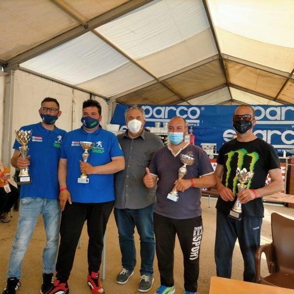A Torricella la Motorsport Scorrano. Ha vinto la coppa di scuderia. Del 3° formula Challenge mare e motori