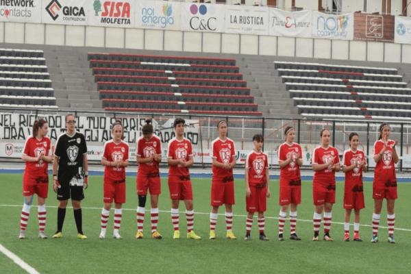 Ottimo esordio della divisione femminile della Molfetta Calcio