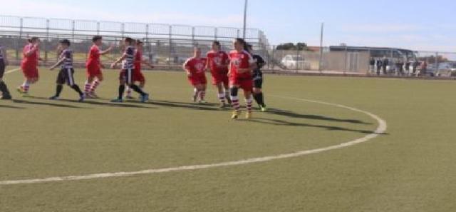 Dopo una partita intensa, il Molfetta Calcio femminile esce sconfitto dalla trasferta contro il Nitor Brindisi