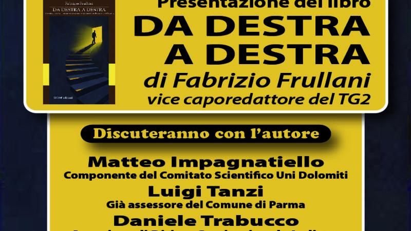 """Presentazione libro """"Da destra a destra- Storia, scena e retroscena del cammino di Fratelli d'Italia"""""""