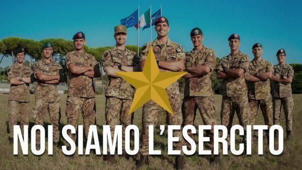 Onore e gratitudine all'esercito italiano