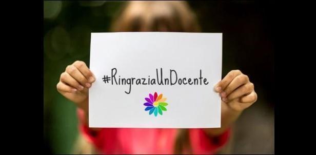 Dal 3 al 9 maggio 2021 la 7° Settimana dell'Insegnante #RingraziaUnDocente