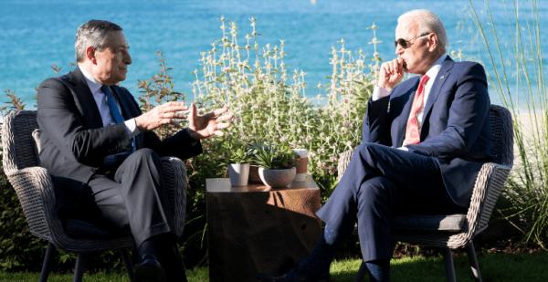 Draghi e Biden, questione di feeling