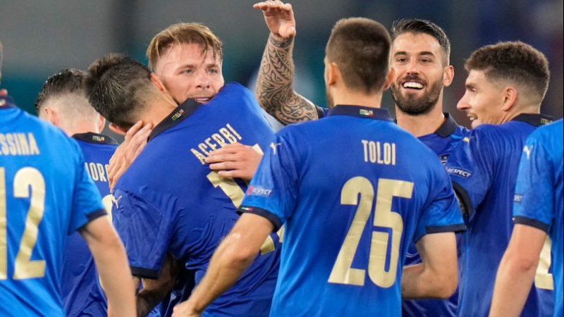 Italia batte la Svizzera 3-0, doppietta di Locatelli e poi Immobile