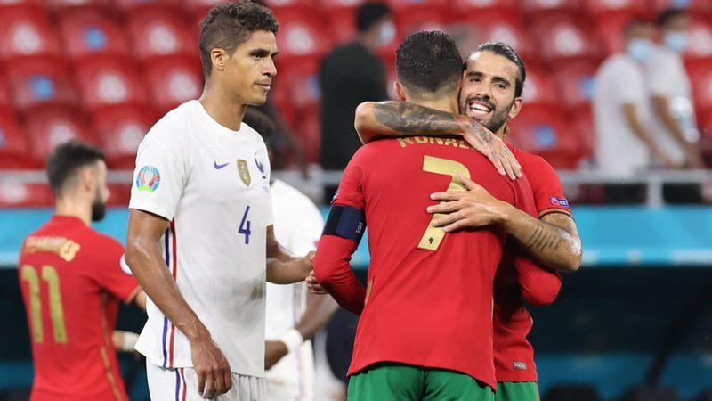 Il pareggio 2-2 tra Portogallo e Francia vale un biglietto agli ottavi per due
