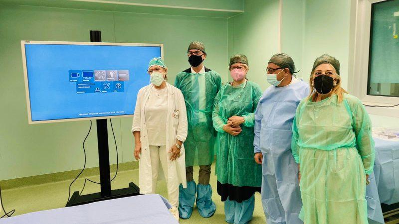 """Nuovo macchinario per chirurgia laparoscopica: """"centralità alla rete ospedaliera del Sud Salento"""""""