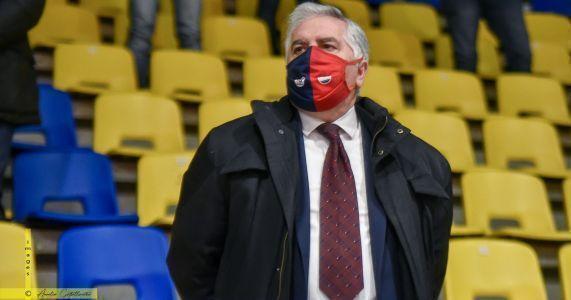 """CJ Basket Taranto, presidente Cosenza: """"Grande delusione ma bravi tutti!"""""""