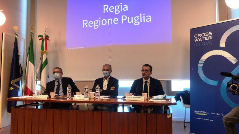 Gestione delle acque: con il progetto Cross Water novità anche in Puglia per infrastrutture, tecnologie, sistemi di controllo e misurazione