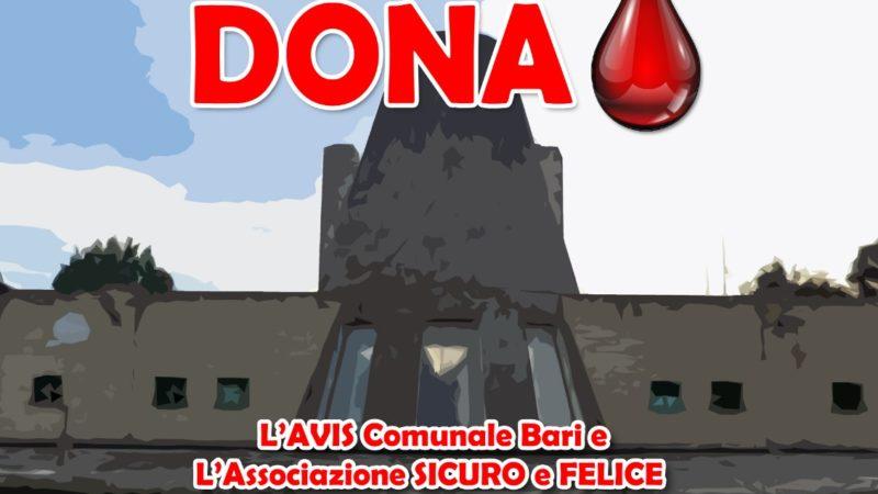 """Avis Bari """"sbarca"""" a Barialto per una raccolta di sangue"""