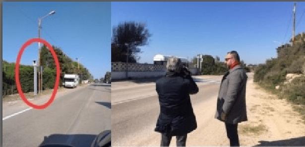 Taranto Litoranea Di Lena fa rimuovere autovelox
