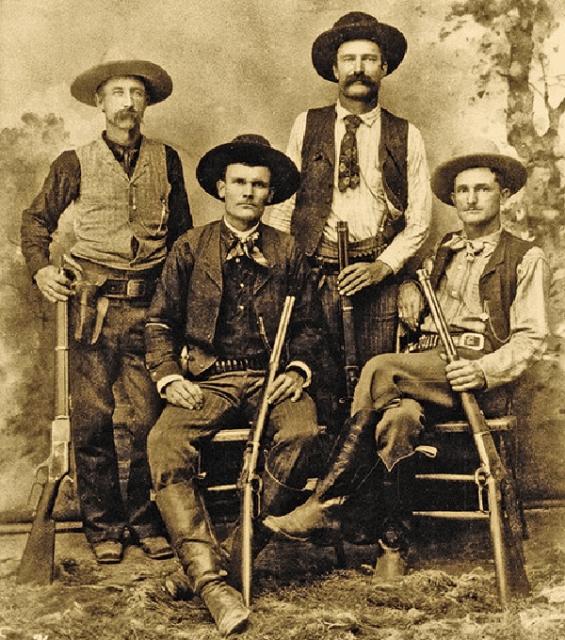 I bambini, i pellerossa e il vecchio west