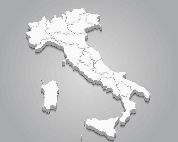 Italia in bianco ma prudenza per il rischio varianti