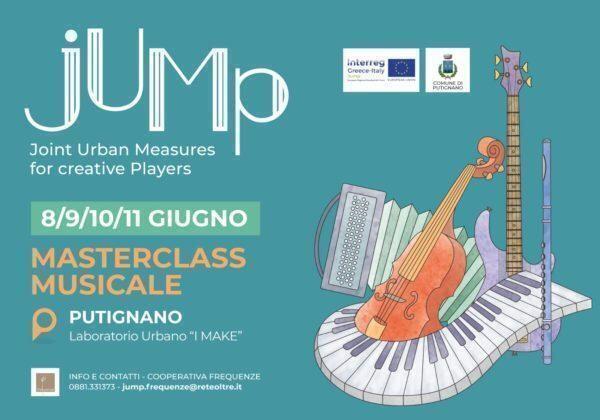 """Putignano, al via la """"Master Class"""": quattro giorni di lezioni per giovani musicisti pugliesi"""