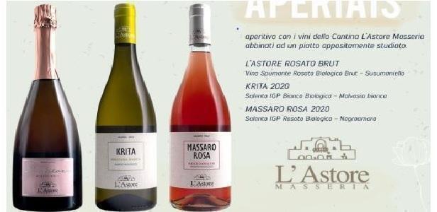 Brindisi al riavvio delle attività con i vini della Masseria l'Astore