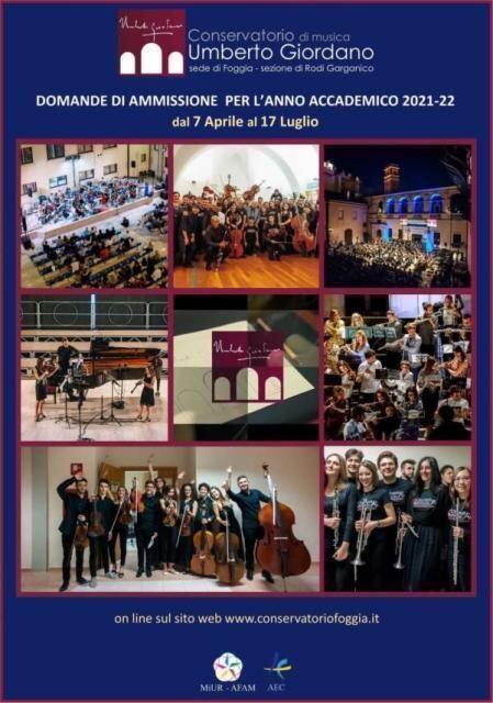 Scambio Conservatorio di Foggia e scuole del Gargano: l'11 giugno conferenza stampa e concerto