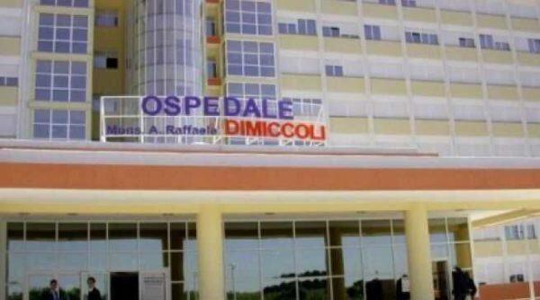 L'ospedale 'Dimiccoli' di Barletta è covid free