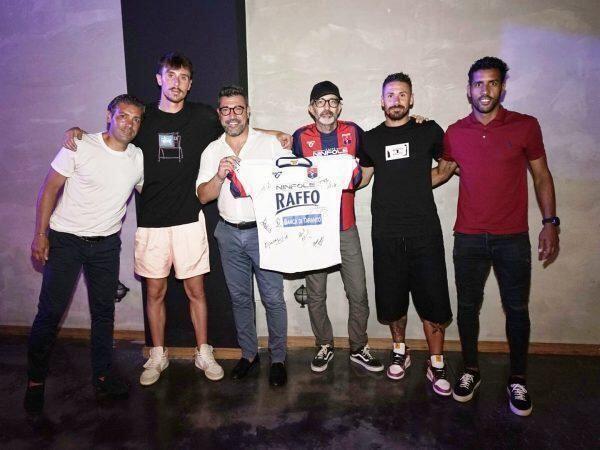 Il Taranto Calcio brinda alla promozione in serie C con una grande festa firmata birra Raffo