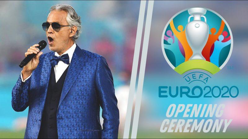 Bocelli ad Euro2020, trionfo sulla stampa internazionale