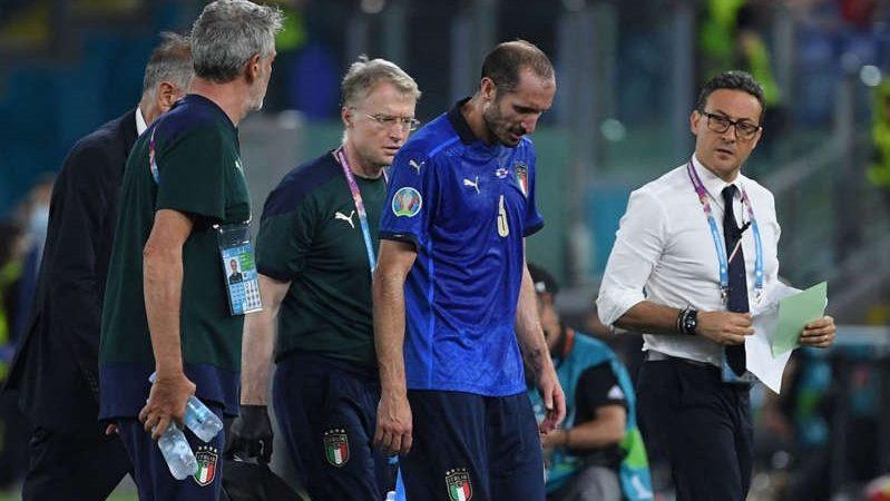 Euro2020, Chiellini dalla gioia alla doppia delusione