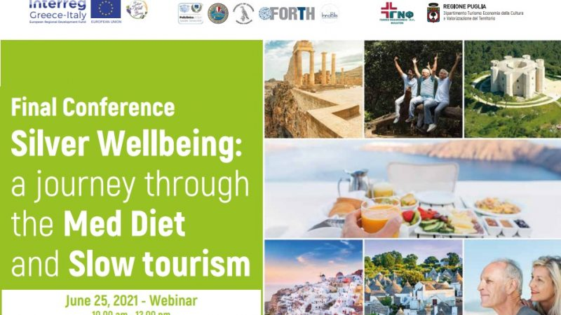 Final conference progetto Silver WellBeing. Webinar ven. 25.06