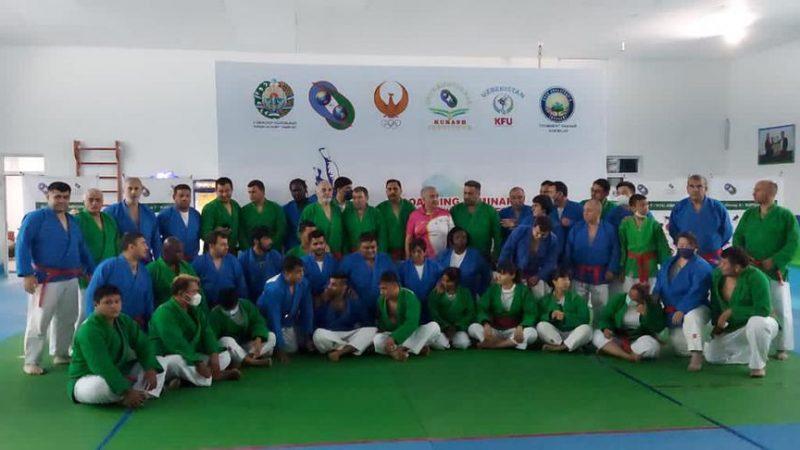 Kurash, seminario a Tashkent: Italia presente