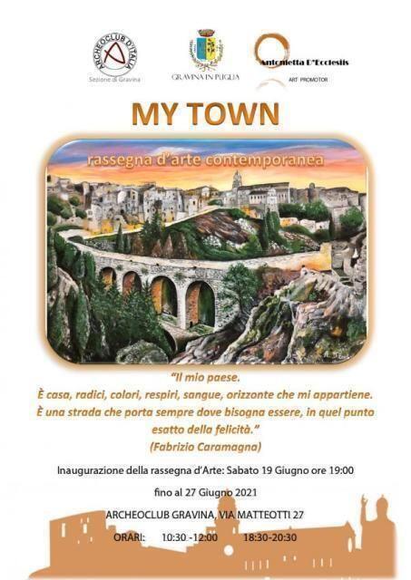 """Inaugurazione rassegna d'arte contemporanea """"My Town"""""""