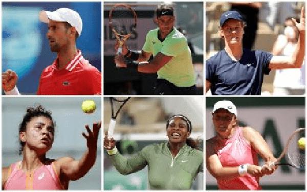 I favoriti al Roland Garros