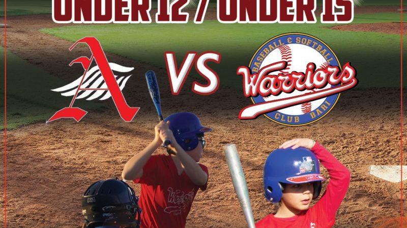 A Matino (Le) una grande giornata di Baseball con l'esordio dei campionati Under 12 e 15