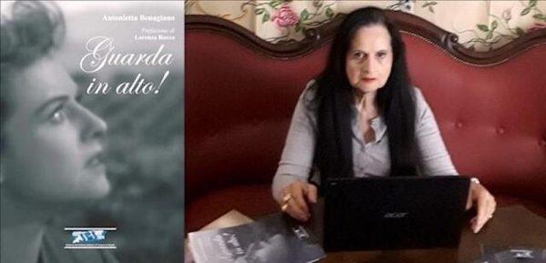 """L'Istituto Italiano di Cultura di Napoli ha presentato """"Guarda in alto!"""" 24° libro di Antonietta Benagiano"""