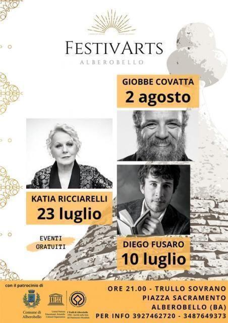 III edizione di FestivArts nella Capitale dei Trulli da 25 anni patrimonio Unesco