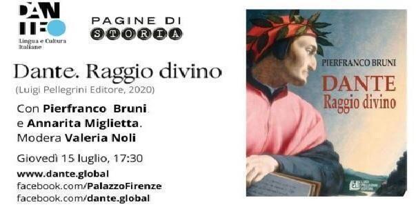 Pierfranco Bruni alla Società Dante Alighieri nazionale il 15 luglio