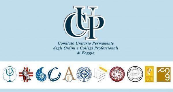 Rinnovato il direttivo del C.U.P. Foggia – Comitato Unitario permanente degli Ordini e dei Collegi Professionali.
