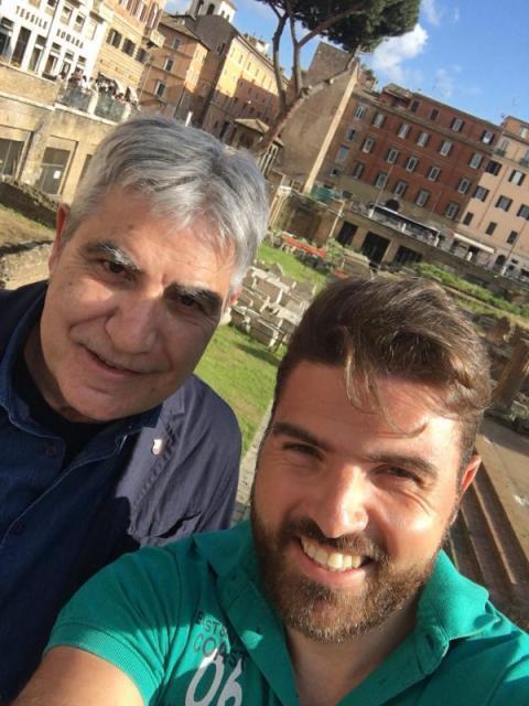 Buon sangue non mente: Luigi – figlio di Camillo placi' – team manager di Rossi e Carambula – coppia azzurra di Beach Volley qualificata a Tokio