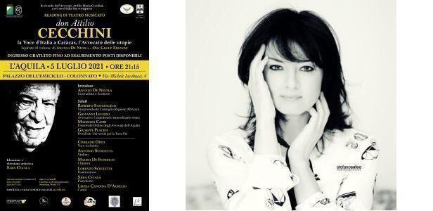 Al Palazzo dell'Emiciclo il reading musicale di Sara Cecala – In ricordo dell'avvocato Attilio Cecchini