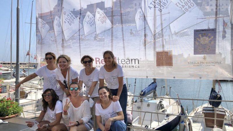 Circolo della Vela Bari. Conclusa la prima giornata della terza tappa trofeo optimist Italia Kinder Joy Of Moving