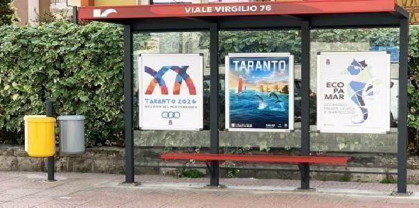 Taranto – Nuovo arredo urbano per Kyma Mobilità