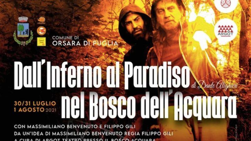 Orsara, Dante nel bosco fa rivivere la Divina Commedia