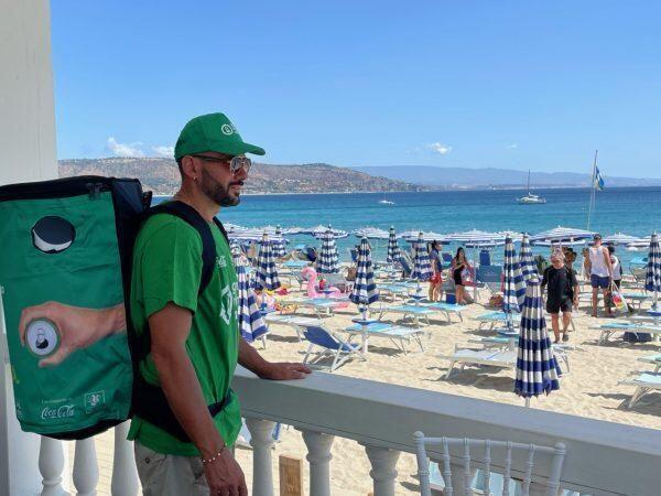 Iniziativa Ente Parchi Marini Calabria, Cial  Coca-Cola per raccolta lattine sui lidi